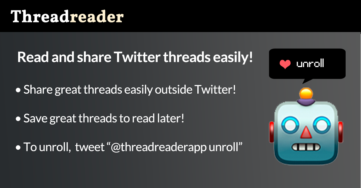 Read and Share Twitter Threads easily!